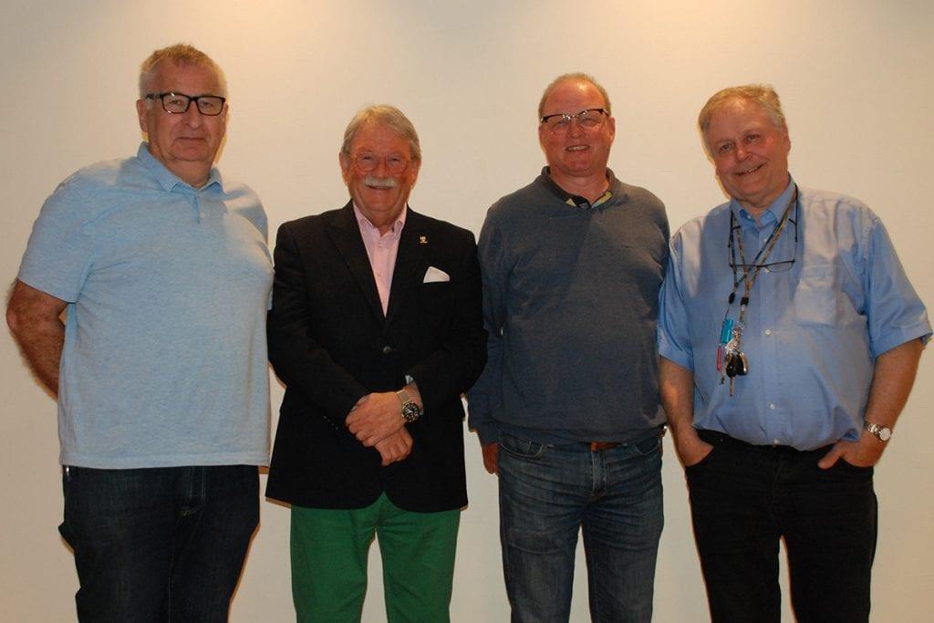 Styret i Norges Hytteforbund 2019. Turid Knudsen var ikke tilstede.